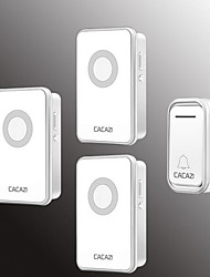Недорогие -Беспроводное От одного до трех дверных звонков Музыка / Дзынь-дзынь Невизуальные дверной звонок