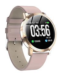 abordables -CF18 Reloj elegante Android iOS Bluetooth Smart Deportes Impermeable Monitor de Pulso Cardiaco Temporizador Reloj Cronómetro Podómetro Recordatorio de Llamadas Seguimiento de Actividad