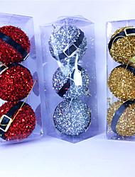 baratos -Ornamentos Plásticos 3 Peças Festa de Casamento