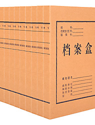 Недорогие -10 pcs M&G APYRBB09 Держатель для карточки с данными A4 Custom Label
