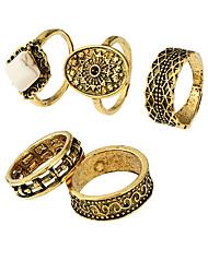 Χαμηλού Κόστους -γυναικεία υπερμεγέθη δαχτυλίδια κράματος