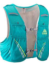 halpa -AONIJIE 5 L Selkäreput Hydration Backpack Pack Kevyt Hengittävä Nopea kuivuminen Kulutuskestävyys Ulko- Vaellus Kiipeily Pyöräily / Pyörä Asetaatti Vihreä / Yes