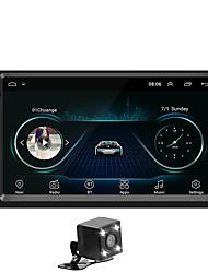 Недорогие -SWM A5+4LEDcamera 7 дюймовый 2 Din Android 8.1 Автомобильный мультимедийный проигрыватель / Автомобильный MP5-плеер / Автомобильный MP4-плеер GPS / Сенсорный экран / Встроенный Bluetooth для