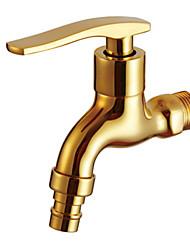 hesapli -Banyo Lavabo Bataryası - Yaygın Eloktrize Kaplama Diğer Tek Kolu Bir DelikBath Taps