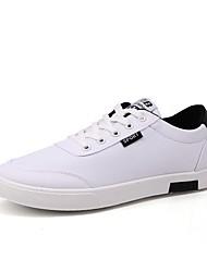 זול -בגדי ריקוד גברים נעלי נוחות קנבס אביב נעלי ספורט לבן / שחור / כחול