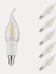 رخيصةأون -6pack- gmy c35l led لمبة الشعيرة 3 واط 380 / 300lm led الشمعدانات لمبة مع e12 قاعدة 6500 كيلو / 2700 كيلو لغرفة النوم غرفة المعيشة المنزل مقهى الديكور