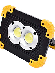 economico -YouOKLight 1pc 20 W Fari LED Oscurabile Bianco 3.7 V Luci per esterni 2 Perline LED