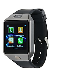 Недорогие -Kimlink DZ09S Смарт Часы iOS Bluetooth Сенсорный экран Израсходовано калорий Хендс-фри звонки FM-радио