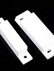 Недорогие -10 шт. / Лот магнитный контакт геркон проводной двери окна датчик открытия сигнализирует выключатели нормально закрытый магнит двери