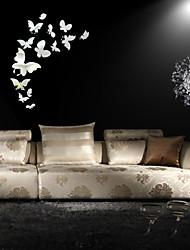 abordables -Autocollants muraux décoratifs - Autocollants muraux animaux A fleurs / Botanique Intérieur