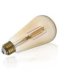 abordables -gmy st21 led edison ampoule 3.5w 330lm led équivalent à ampoule à incandescence 28w avec e26 base 2200k blanc chaud pour chambre salon home café décoratif