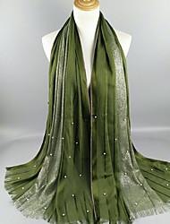 abordables -Mujer Bufanda Rectangular - Básico Un Color