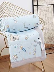 baratos -Confortável - 1 Cobertura de Cama Primavera / Verão Algodão Estampa Colorida / Desenho Animado / Letra