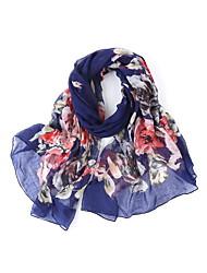 abordables -Mujer Bufanda Rectangular - Básico Floral