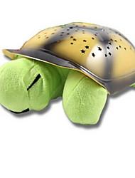 Недорогие -новинка новый творческий черепаха привел детские игрушки плюшевые проекции черепаха спать свет электронные игрушки электронные подарок домашних животных