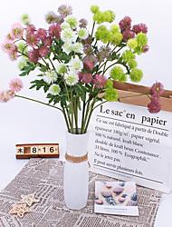 povoljno -Umjetna Cvijeće 1 Podružnica Klasični Rekviziti Europska Biljke Vječni cvjetovi Cvjeće za stol