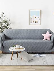 abordables -El amortiguador del sofá Un Color / Clásico Jacquard Poliéster / Algodón Fundas