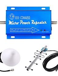 Недорогие -Mini CDMA 850 МГц усилитель сигнала мобильного телефона усилитель антенны комплект