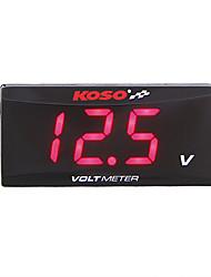 preiswerte -Motorrad Voltmeter für Honda / YAMAHA / Kawasaki Spur Rot / Blau Anaglyph 3D