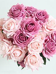 Недорогие -Искусственные Цветы 5 Филиал Классический Свадьба европейский Розы Букеты на стол