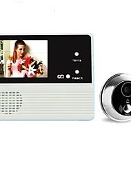 Недорогие -GW601B-2BH Беспроводное Встроенный из спикера ≤3 дюймовый Гарнитура 240*3*320 пиксель Один к одному видео домофона