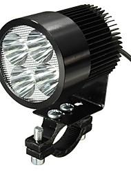 Недорогие -1pcs Проводное подключение Мотоцикл Лампы 12 W 4 Светодиодная лампа Налобный фонарь Назначение Suzuki / Honda / Мотоциклы Все года