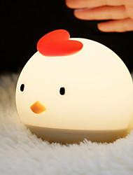 זול -1pc LED לילה אור / אור לילה לילד לבן חם USB חמוד / יצירתי <=36 V