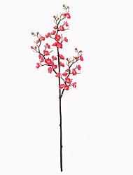 Недорогие -Искусственные Цветы 2 Филиал Классический Классика Традиционный / классический слива Вечные цветы Букеты на стол