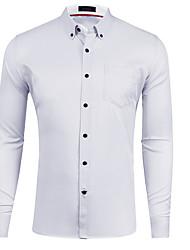 olcso -férfi ing - egyszínű ing gallér