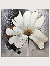 povoljno -Hang oslikana uljanim bojama Ručno oslikana - Sažetak Cvjetni / Botanički Moderna Uključi Unutarnji okvir