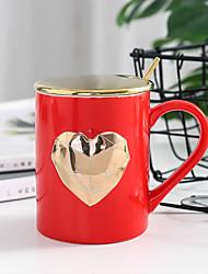 זול -drinkware ספלים & כוסות חַרְסִינָה מתנת חבר / מתנת Girlfriend / חמוד יום יומי\קז'ואל