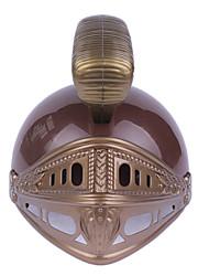 baratos -Gladiadoras Roma antiga Ocasiões Especiais Homens Capacete chapéu Prata + Gray / Ouro + Black / Gloden + Black Vintage Cosplay Halloween Mascarilha