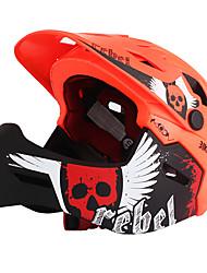 Недорогие -MOON Детские Подростки Мотоциклетный шлем BMX Шлем 22 Вентиляционные клапаны Формованный с цельной оболочкой Вентиляция Сетка от насекомых ESP+PC прибыль на акцию Этиленвинилацетат Виды спорта