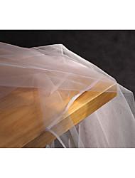 economico -Tulle Tinta unita Anelastico 165 cm larghezza tessuto per Quilting-tessuto venduto di il 0.45m