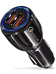 abordables -Coche Cargador de Coche 2 Puertos USB para 9 V