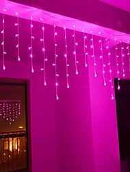 abordables -4m Cuerdas de Luces 96 LED Diodo LED Blanco Cálido / Blanco / Azul Fiesta / Decorativa / Vacaciones 110-120 V 1pc
