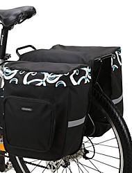 Недорогие -ROSWHEEL 30 L Сумка на багажник велосипеда / Сумка на бока багажника велосипеда Сумки на багажник велосипеда Регулируется Большая вместимость Водонепроницаемость Велосумка/бардачок Сетка 600D
