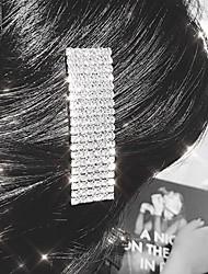 hesapli -Kadın's Temel / sevimli Stil Saç Klipsi Solid