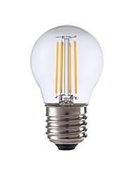 levne -GMY® 1ks 3.5 W 350 lm E26 / E27 LED žárovky s vláknem P45 4 LED korálky COB Ozdobné Teplá bílá 220-240 V / RoHs