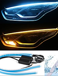 2pcs wire connection car light bulbs 13 w smd 2835 800 lm 168 led daytime  running lights / turn signal lights / tail lights for universal all years