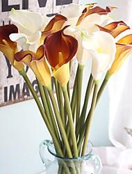 Недорогие -Искусственные Цветы 5 Филиал Классический Традиционный / классический европейский Калла Вечные цветы Букеты на стол