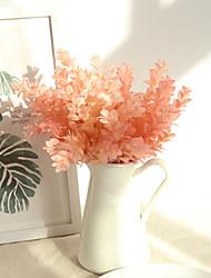 billiga -Konstgjorda blommor 1 Gren Klassisk Europeisk Plantor Eviga Blommor Bordsblomma
