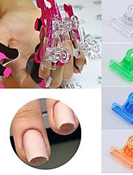 voordelige -6pcs UV-gel Zeer transparant / Beste kwaliteit Romantische serie Nagel kunst Manicure pedicure Hars Romantisch / Zoet Dagelijks / Festival