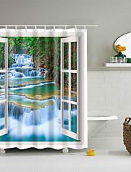 cheap -Shower Curtains Casual / Modern Polyester Cute