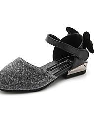 abordables -Chica Zapatos PU Verano Confort Sandalias para Negro / Plateado