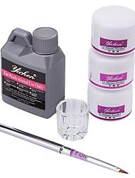 ราคาถูก -Acrylic Kit UV Gel เครื่องมือวาดภาพเล็บ คลาสสิก / คุณภาพที่ดีที่สุด ซีรีส์โรแมนติก เล็บ ทำเล็บมือเล็บเท้า โรแมนติก / แฟชั่น ทุกวัน / เทศกาล