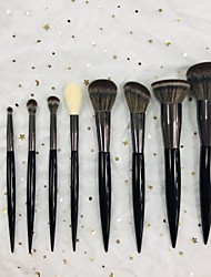 voordelige -9pcs Make-up kwasten professioneel Make-up kwast Zacht / synthetisch Kunststof