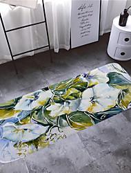 זול -1pc מודרני משטחים לאמבט אלמוגים פרחוני 5mm חדר אמבטיה ללא החלקה / עיצוב חדש / קל לנקות