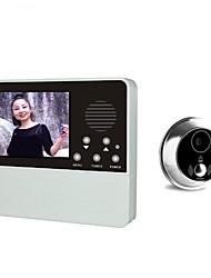 Недорогие -Цифровые видеодомофоны 3,2 дюйма с камерой и дверной камерой один на один видеодомофон
