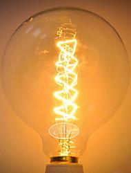 billige -1pc 60 W G125 Gjennomsiktig Kropp Glødende Vintage Edison lyspære 220-240 V